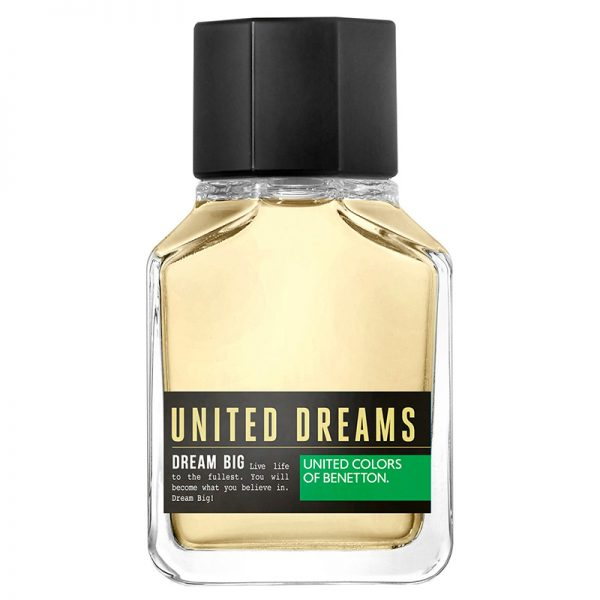 perfume para hombre benetto dream big