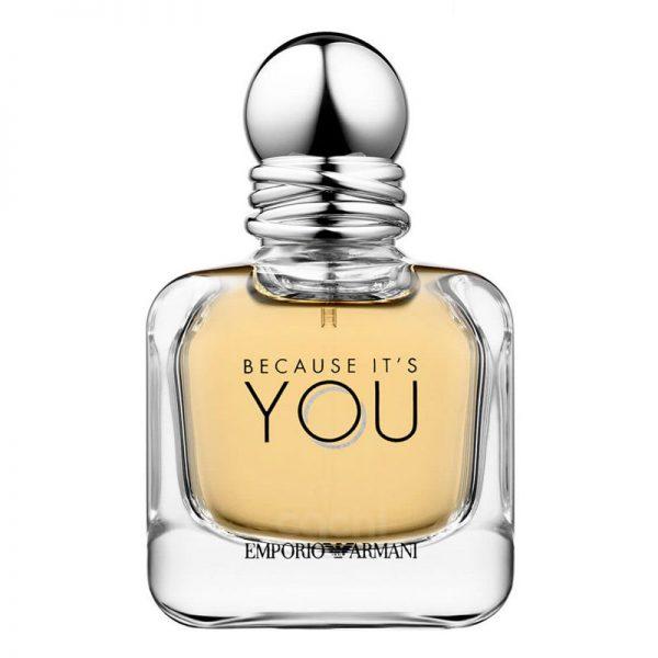 perfume de mujer giorgio armani because it's you