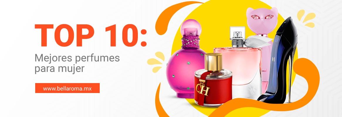 Portada de mejores perfumes para mujer