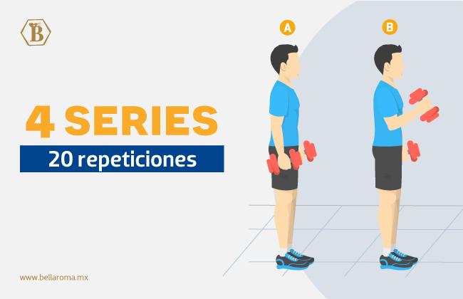 ejercicios para hombre para biceps