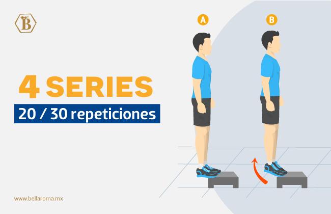 rutinas de ejercicio para piernas para hombre