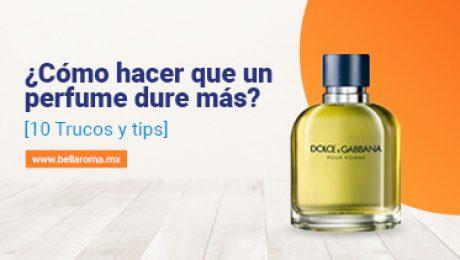 como lograr que el perfume dure todo el día