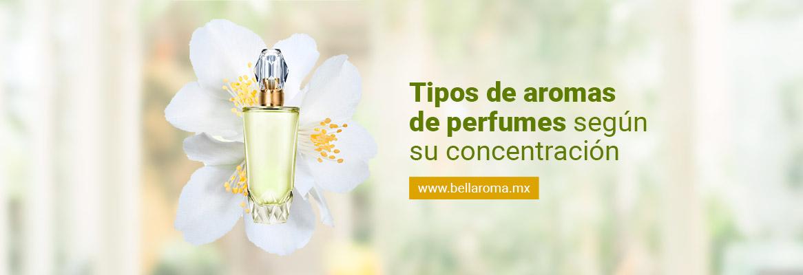 portada de tipos de aromas de perfumes segun su concentracion