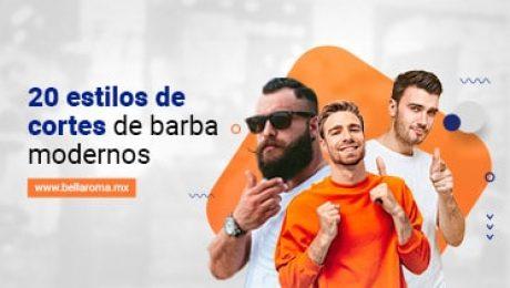 hombres con diferentes cortes de barba modernos