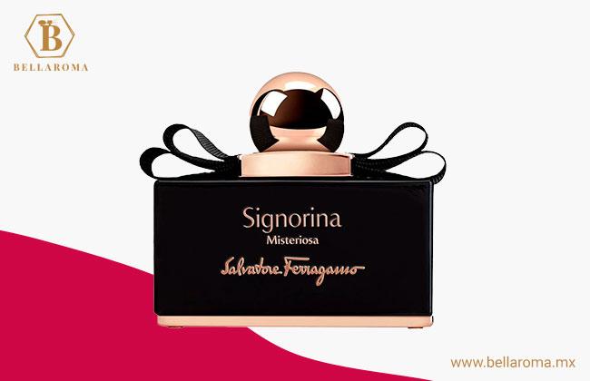perfume para mujer salvatore ferragamo signorina misteriosa
