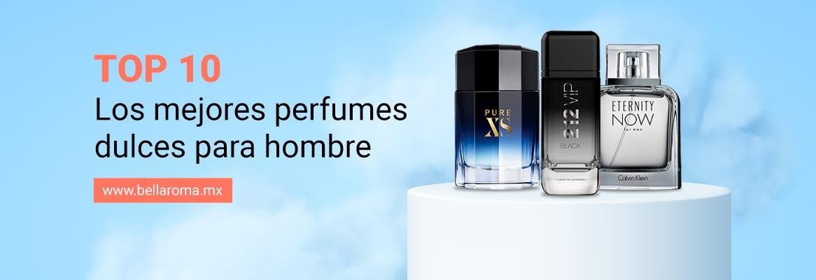 Portada de artículo: Top 10 Perfumes dulces para hombre