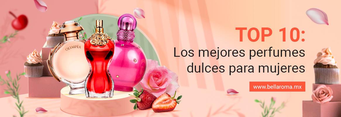 Portada de artículo Top ten: los mejores perfumes dulces para mujeres