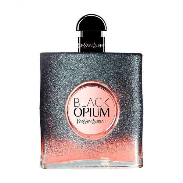 PERFUME PARA MUJER YSL BLACK OPIUM FLORAL SHOCK