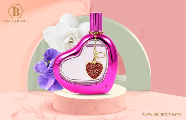 Frasco del perfume para mujer Love de la marca Bebe