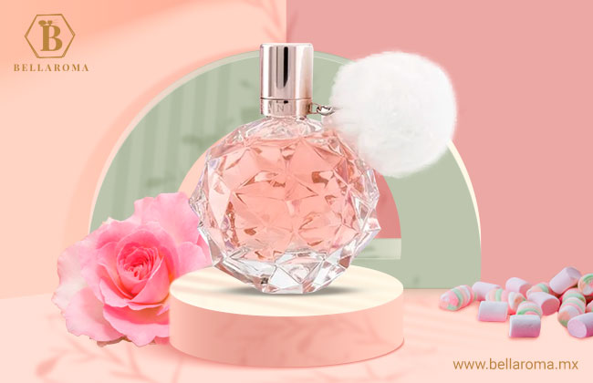 Frasco del perfume para mujer Ari de Ariana Grande