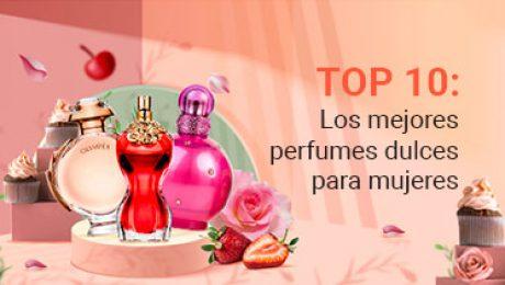 Portada destacada Top ten: Los mejores perfumes dulces para mujer