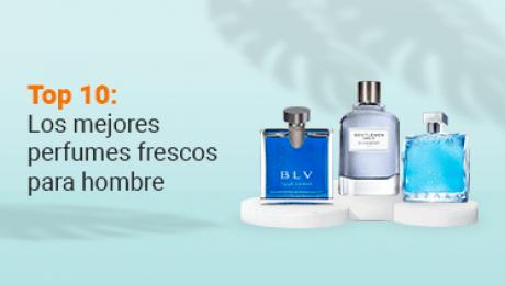 Portada de artículo Top diez de los perfumes frescos para hombre