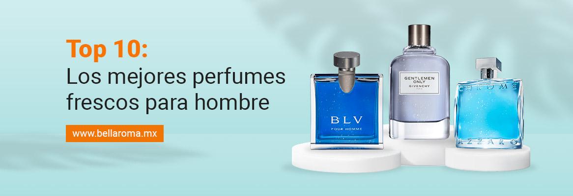 Portada de artículo top diez los perfumes frescos para hombre