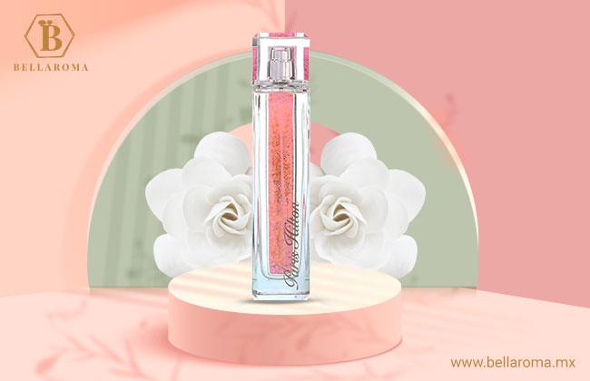 Frasco del perfume para mujer Hiress de Paris Hilton